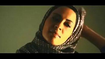 muslim girl eliminates hijab to smooch.