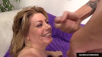 mature harlot cent sue romps a fellow and.