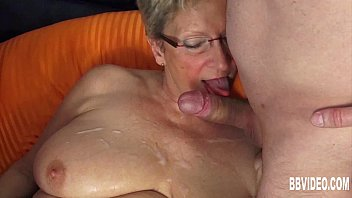 german grandma smash two cocks