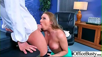 Sexy Big Boobs Girl (Juelz Ventura) Like Hardcore Sex In Office video-14