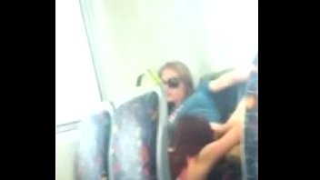 caught in the bus