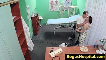 medic puss pummels cleaner before nurse.