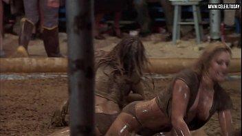 vicki frederick - nude grappling meaty mounds girl-on-girl.