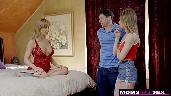 momsteachsex - buxomy cougar gets steaming mother039_s day.