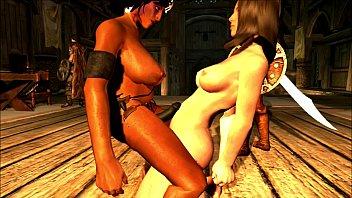 Battle Dwarf Esmeralda in SKYRIM How to build Series in HD by SEXY GAMERXXX