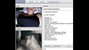hermosa jovencita colombiana se masturba para mi en.