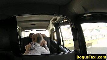 brit cab stunner honeypot jizzed for.