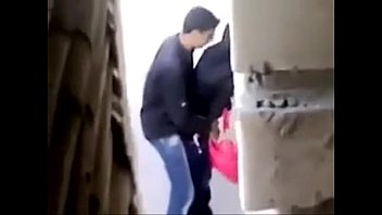 arab duo smooching in school -.