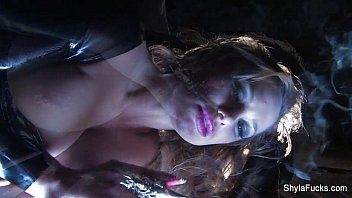 Shyla Stylez&#039_s Smoking Fetish