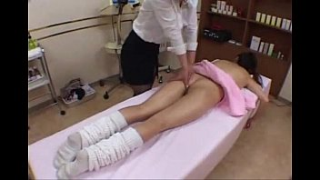 school woman get rubdown and pound.