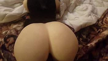 romp girl ginormous caboose dark-hued-haired hotwife wifey give.