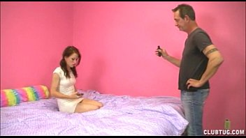 supah-hot teenager fapping a mature stud