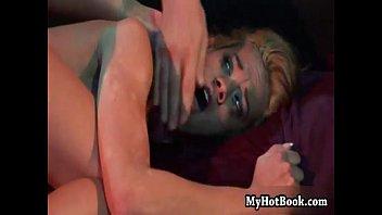 Chloe Delaure is in a MMF  hardcore threesome  in