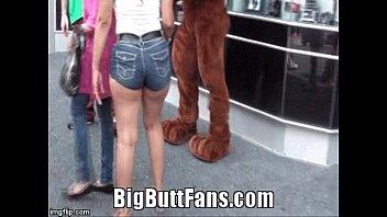 gigantic bum honey in cock-squashing bootie.