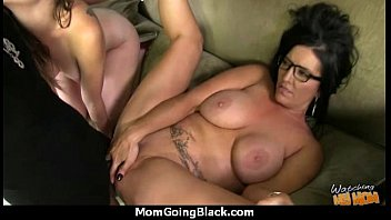 White horny mom in interracial hard sex 16