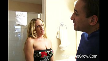 Sunny Jay - Pretty Blonde Sucked Cock On A Group Sex