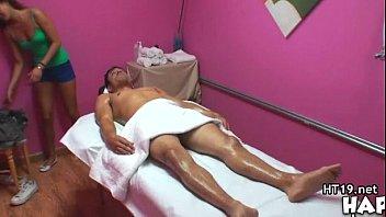 Big Tit Asian Hot Massage and Fuck