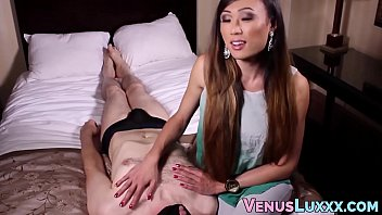 japanese transsexual predominates boy plaything thru throatfucking and donk-pulverize