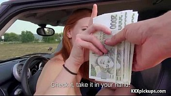 public pickups inexperienced nubile plumbs for money in.