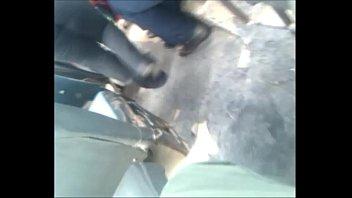 cobradora culona de licra negra