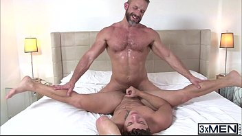 Gay hunk Nicole Cole gets ass fucked by Dirk Caber long hard cock