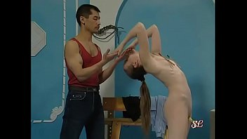 small balerina teenager gets a taste of sadism.