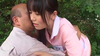 subtitled weird japanese half nude caregiver.