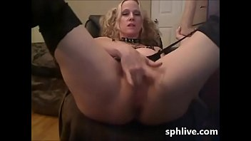 sph with ginormous faux penis web.