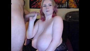 my plus-size sexmate gives me oral.