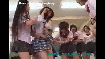School Girls Hold Down New Student and  Her