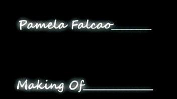 pamela falcao -  making-off ensaio