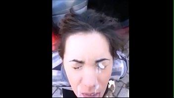 phat uber-cute facial cumshot compilation