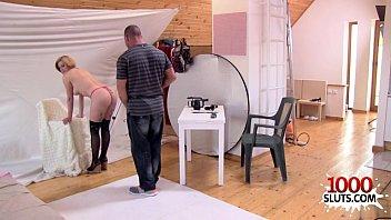 Czech amateur sex with cum on tits