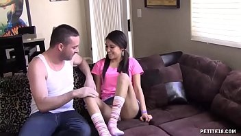 nubile stunner lets his phat pipe slip into.
