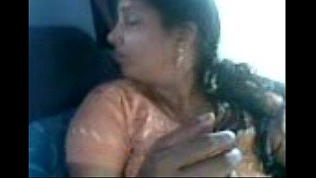 salwar aunty in parrked camper