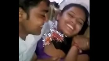 bangladeshi - village chick smooched by her boyfriend.