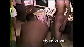 interracialplaceorg - steaming light-haired tramp does a firm three-way
