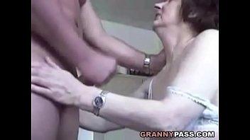 softcore grandmother  blowage