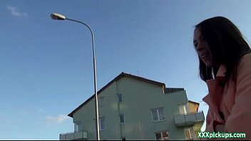 Public PIckups - Czech Amateur Teen Fucks Outdoor For Money 10
