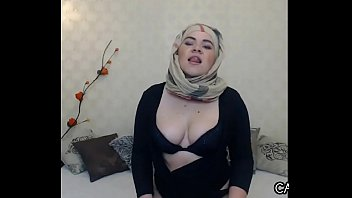sensual arab floozy with her hijab