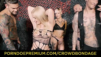 crowd limit bondage - very first time dominance.