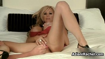 thick-chested blond cougar gets nasty penetrate.