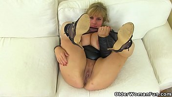 english cougar danielle looks close to perfection in.