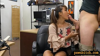 phat-titted chinese chick plumbed by pawn.