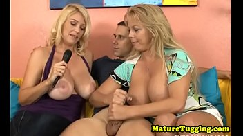 fat-chested cougars jacking stud-meat in 3.