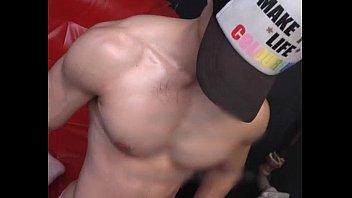 killer asain china muscle boy model.