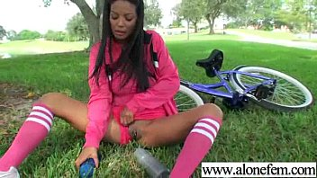 Hot Babe Girl Masrturbate With Toys On Tape clip-01