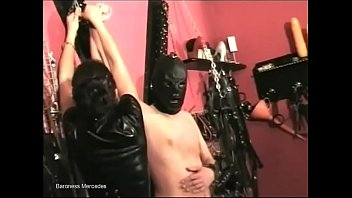 stylish dominatrix kittle torment her sub