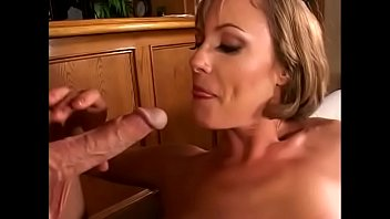 whorish and uber-cute cougar picked up and frantically fucked