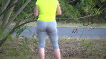 jaw-dropping backside wifey